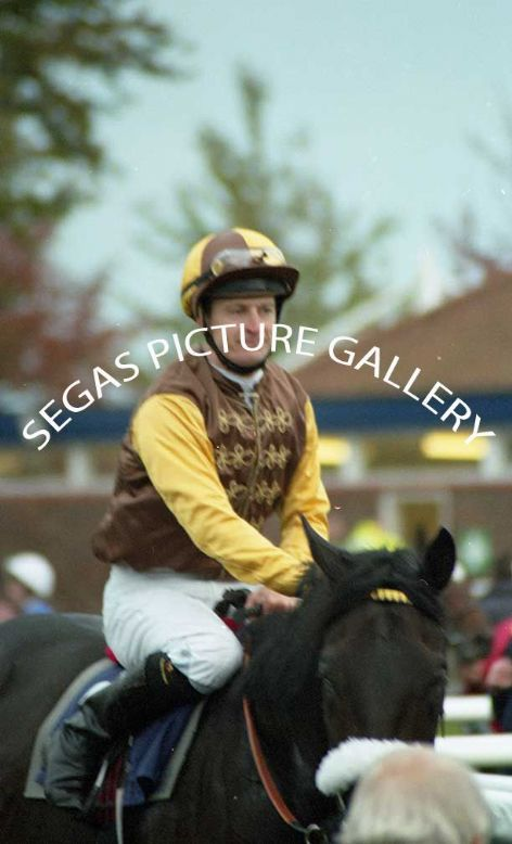 The Jockey Steve Drowne @ Newmarket on the 16th October 2004